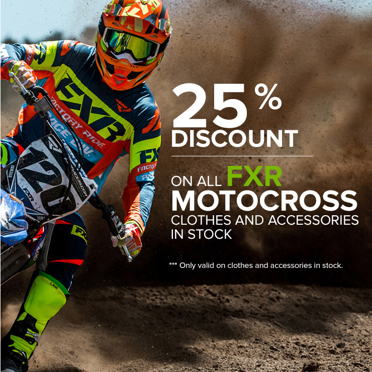 FXR Motocross accessories discount