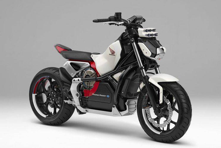 Honda présentera son nouveau concept Riding Assist-e à Tokyo