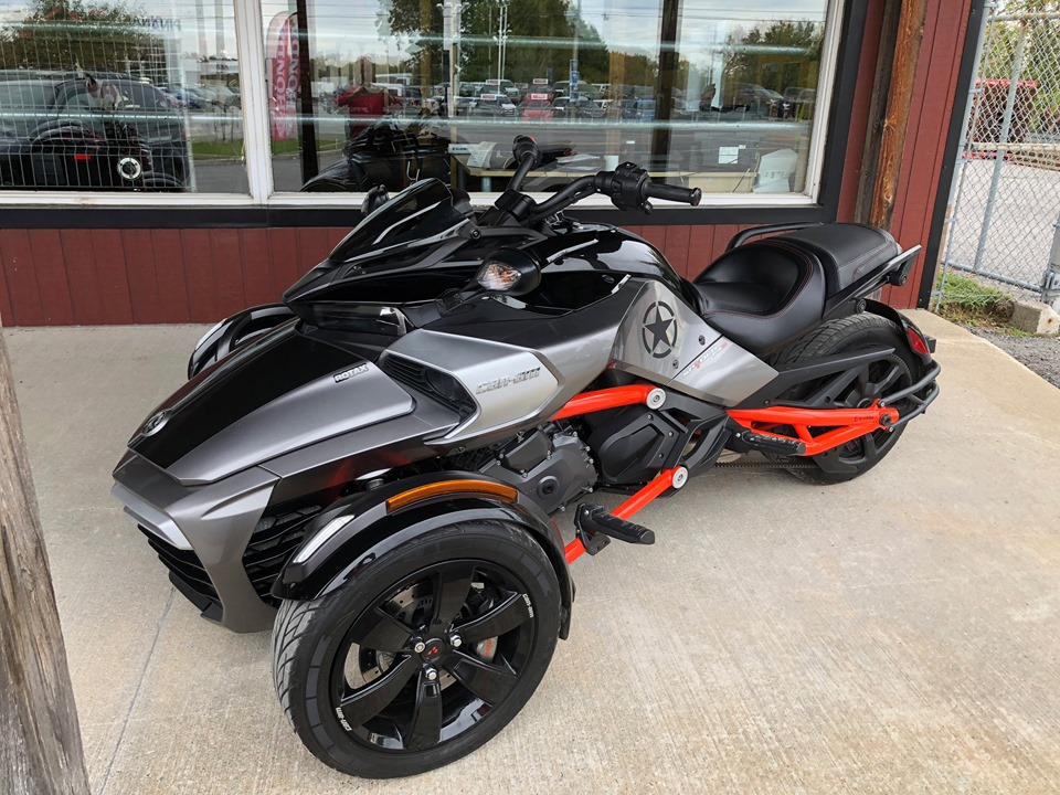 CAN AM SPYDER F3S SE6 2015