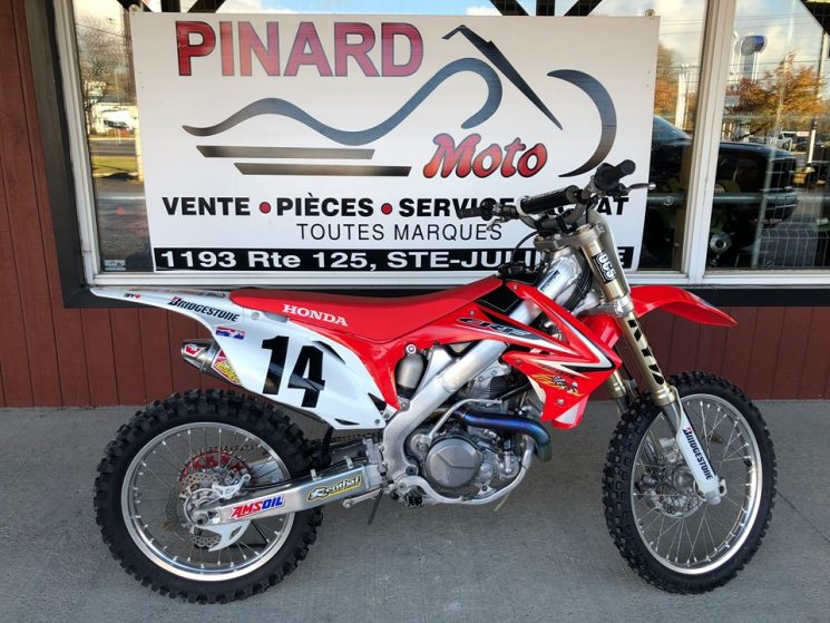 HONDA CRF 450 R 2010