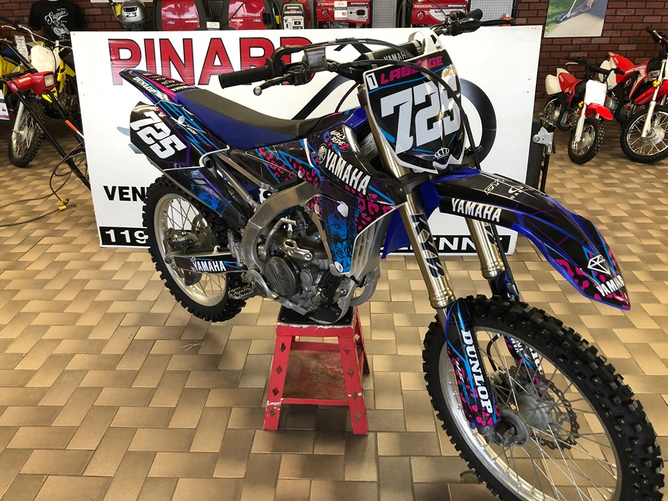 YAMAHA YZ250F 2014 TRES PROPRE SPECIAL $20.01/SEMAINE TOUS INCLUS
