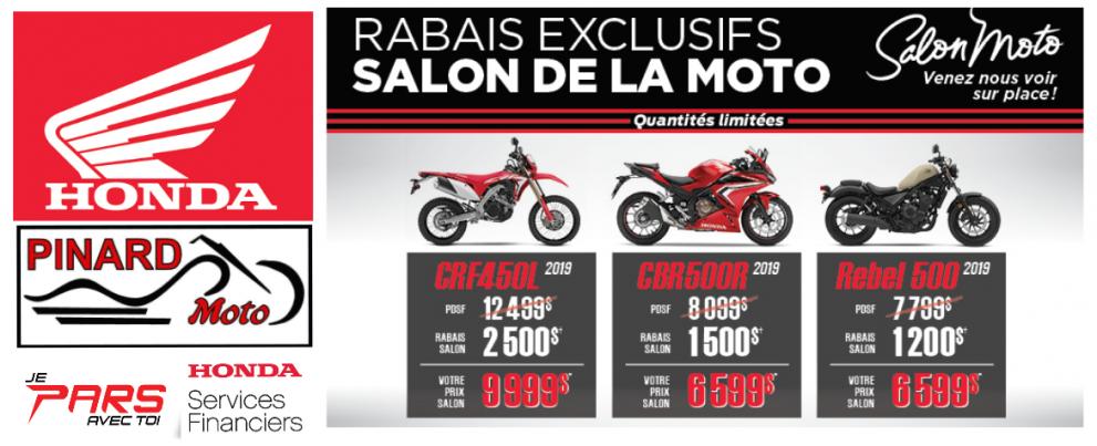 PROMOS DALON DE LA MOTO CHEZ PINARD MOTO