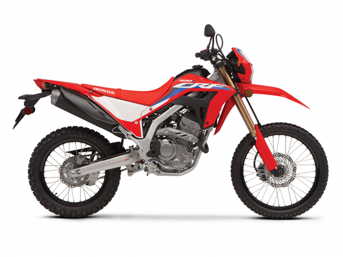 2021  CRF300L ABS Extreme Red