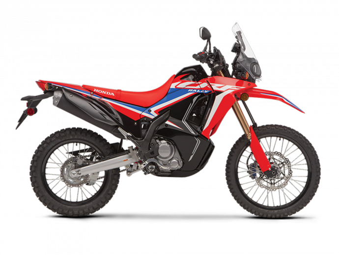 2021  CRF300L RALLY Extreme Red