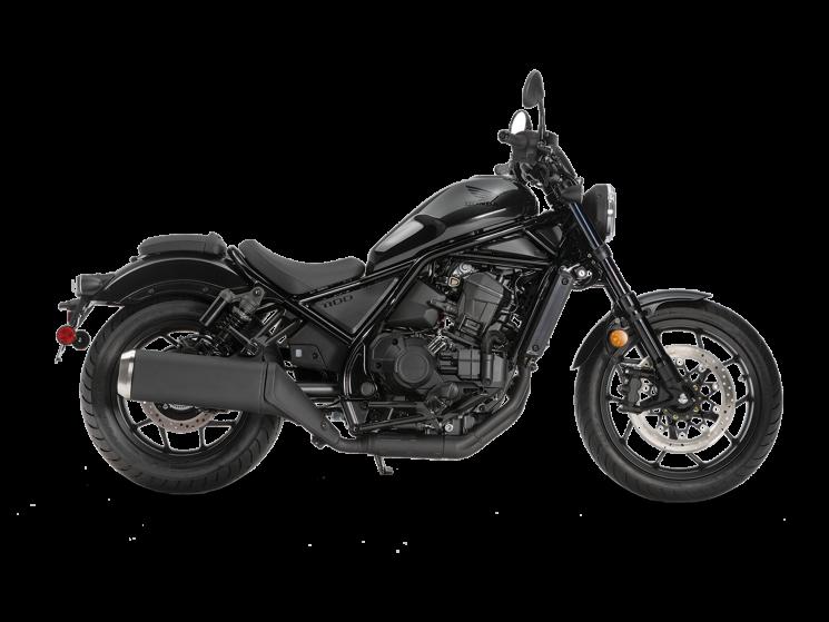 Honda REBEL 1100 Noir poudre à canon métallisé 2021