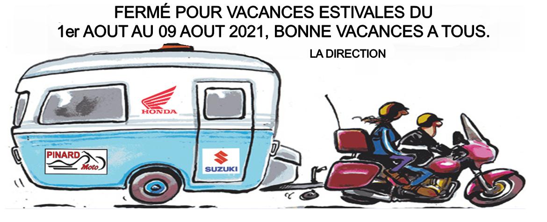 vacances estivale 2021